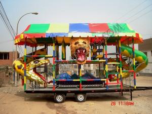 Playground Remolque C (2.40 x 6.40 x 5.50)