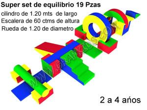 Set Equilibrio 19 PZS