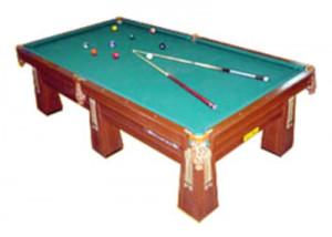 Mesa de billas C (madera tornillo)