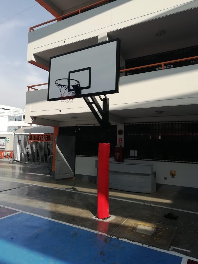 Tablero de basquet de fibra de vidrio