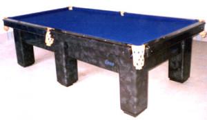 Mesa de billas (enchapada en formica)