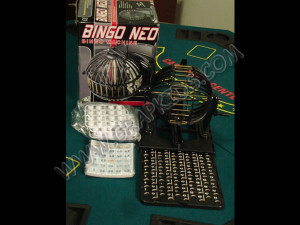 Juego de bingo